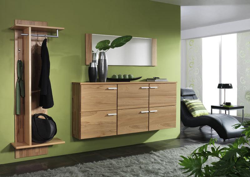 massivholzgarderobe. Black Bedroom Furniture Sets. Home Design Ideas