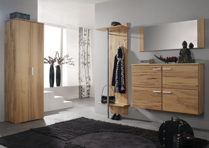 massivholzgarderobe. Black Bedroom Furniture Sets. Home Design Ideas