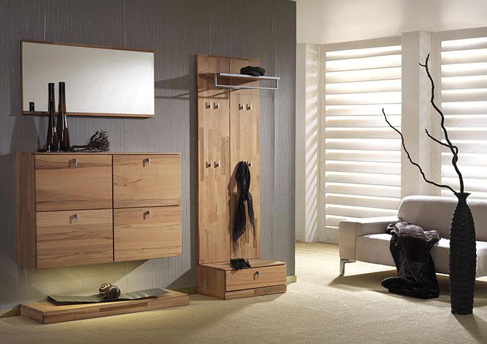 massivholzgarderobe modell vado kernbuche. Black Bedroom Furniture Sets. Home Design Ideas