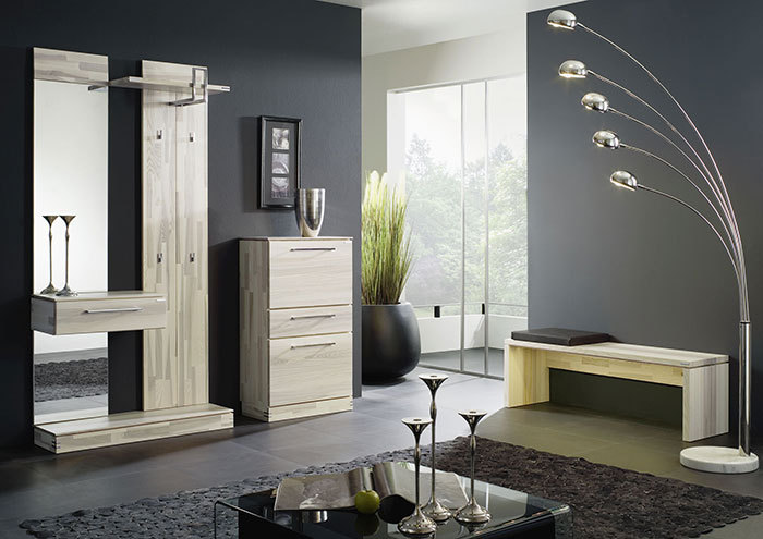 massivholzgarderobe modell terra kernesche. Black Bedroom Furniture Sets. Home Design Ideas